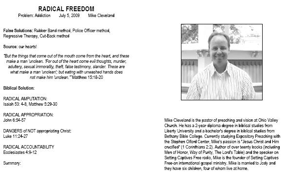 Setting Captives Free Founder Mike Cleveland